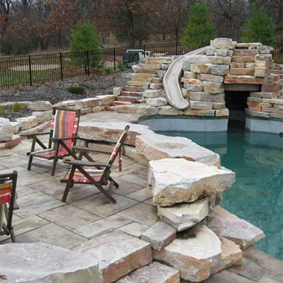 Landscape design by Outdoor Living
